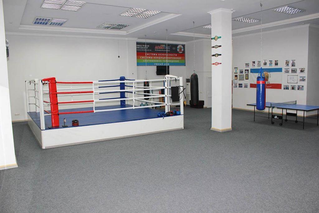легион боксерский клуб москва